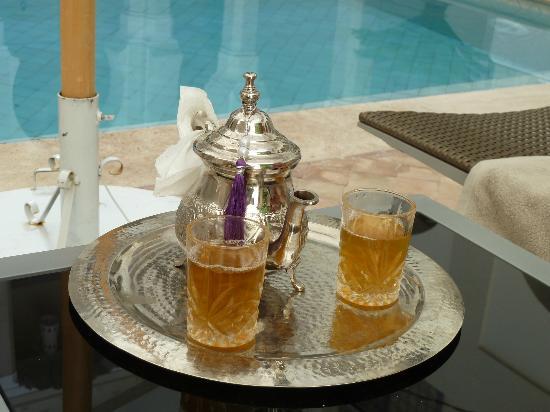 Riad Nashira & Spa: L'ottimo tè alla menta