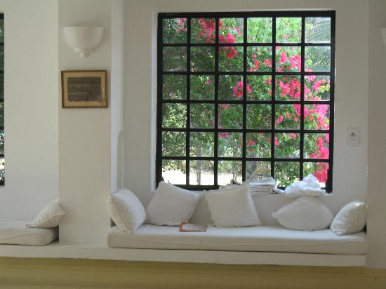 Residence Dar Sidi : Salon dans la maison principale