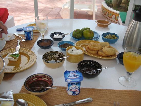 Residence Dar Sidi : Petit déjeuner