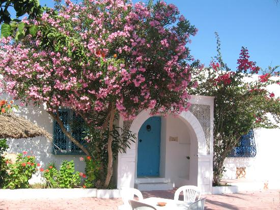 Residence Dar Sidi : Entrée d'une chambre