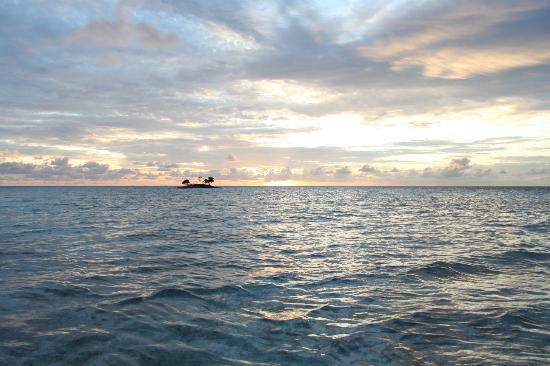 Asdu Sun Island: vista dalla spiaggia dietro al resort