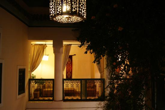 Dar Ihssane: balcone