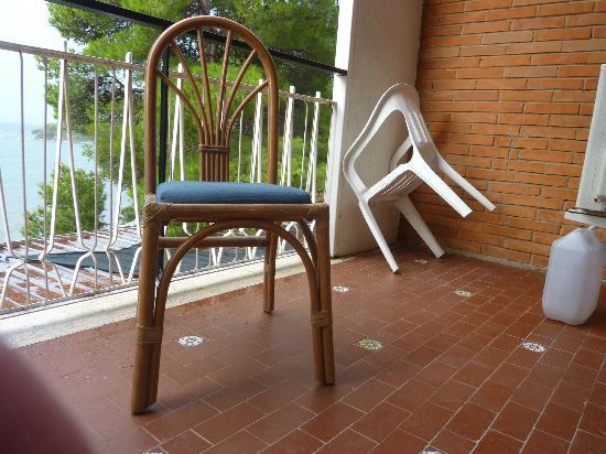 Hotel Punta Licosa: Camera 110 vista mare Settembre 2012