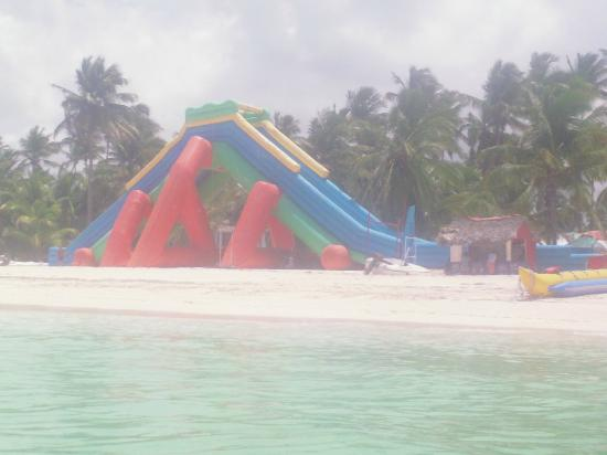 Marinarium Excursions - Sunny Day Sailing Cruise : The giant water slide