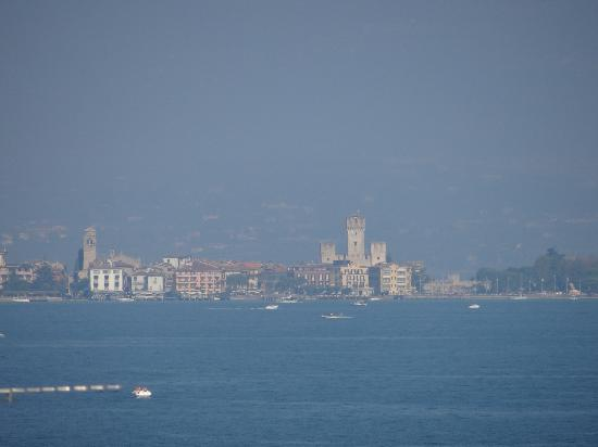 Astoria : Photo of Sirmione taken from the hotel roof terrace