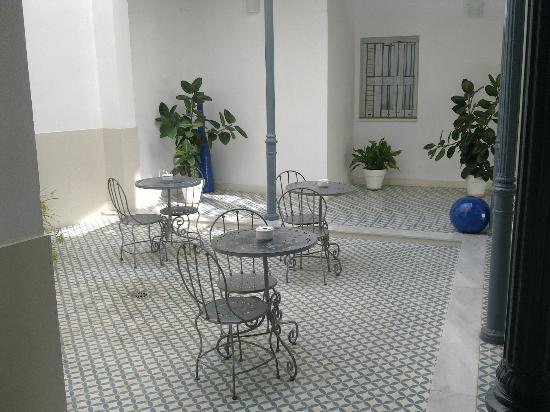 Siete Revueltas Singular Apartments: patio