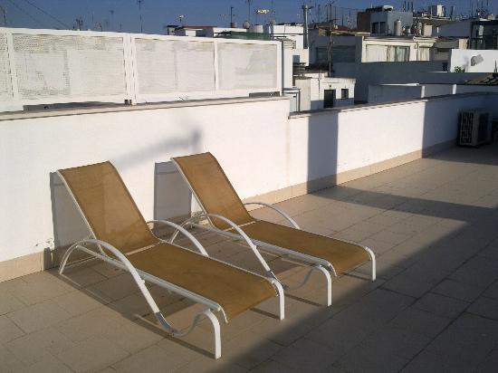 Siete Revueltas Singular Apartments: roof terrace