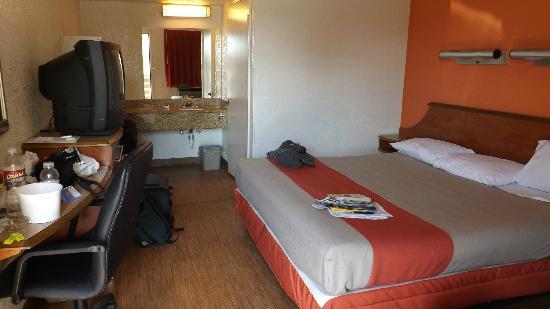 Motel 6 Amarillo Airport: Unser Zimmer