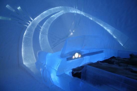 Icehotel: Main room