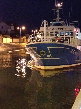 Ibis Bayeux Port en Bessin: Off to work