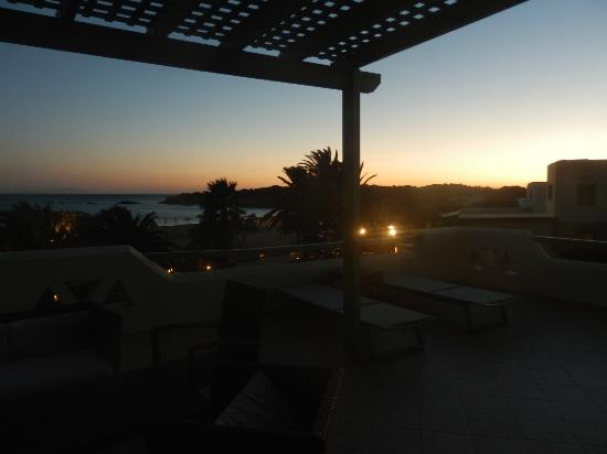 Finikas Hotel: view from Finikas suite in the evening
