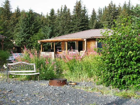 Angels Rest on Resurrection Bay, LLC: our cabin (Wing)