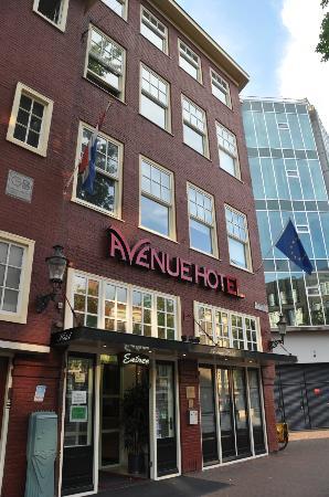 Avenue Hotel: fachada