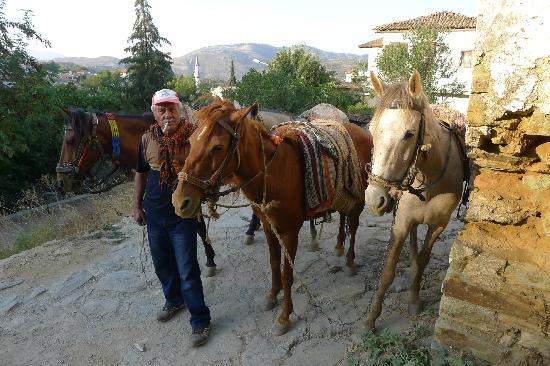 Grapevine House: Mehmet, our guide for horseback riding in Sirince