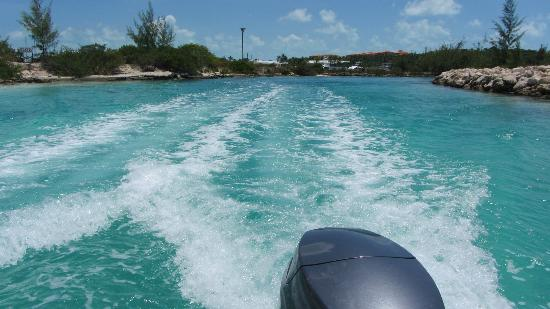 Island Vibes Tours: leaving the dock