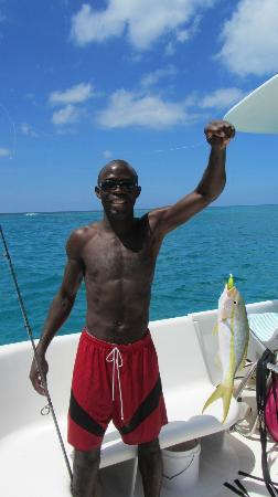 Island Vibes Tours: yellowtail snapper