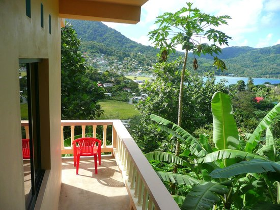 Mango Inn: view from my porch