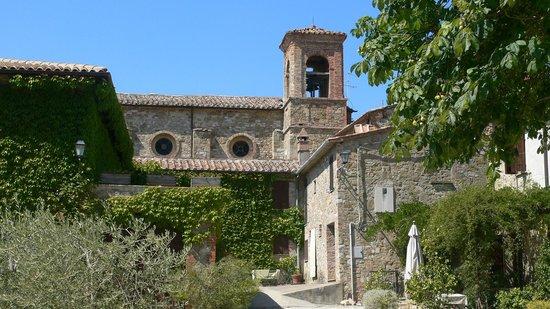 San Lorenzo della Rabatta: borgo