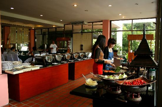 Woraburi Ayothaya Convention Resort : Breakfast restuarant