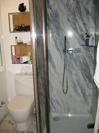 Brown's Downtown Hotel: la doccia
