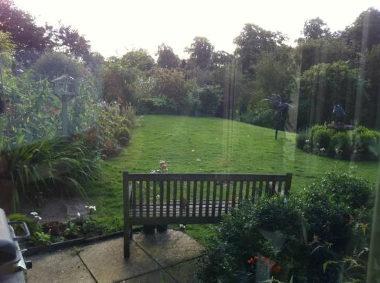 Fauhope House: view of just a part of the grounds from the breakfast room