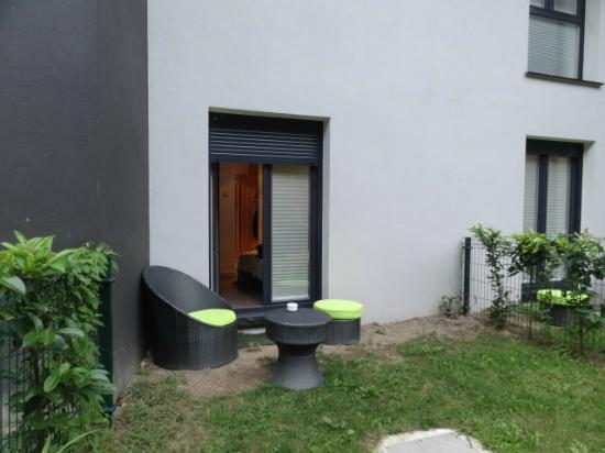 Hotel Txanka Erreka: il piccolo angolo verde della camera