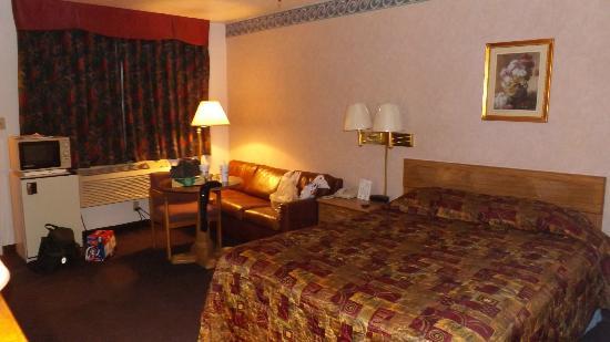 Carlsbad Inn: Das Zimmer War in Ornung