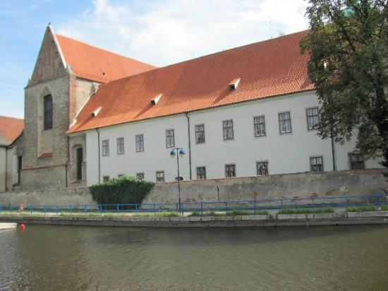 Dominican Monastery: seen frm the river