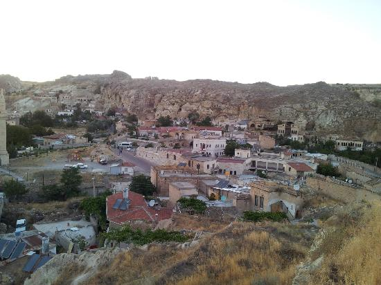 Dedeli Konak Cave Hotel: View from top of hotel