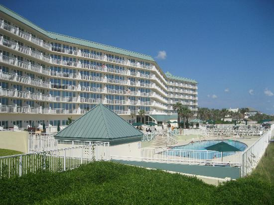 Royal Floridian Resort Main Building Pool Deck