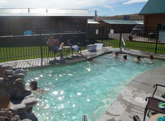 Cody Cowboy Village: CCV hot tub/spa
