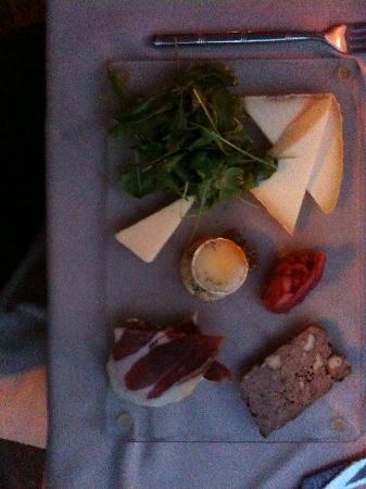 Restaurant Belle Terre : Assiettes de spécialités Corses
