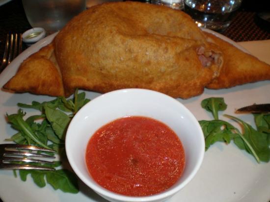 Ristorante Pizzeria Il Clarinetto : Calzone frito