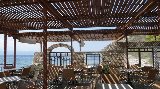 Hotel Poseidon Resort: Beach restaurant
