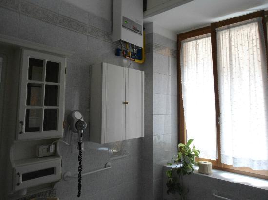 B&B Il Viandante Romano: bagno