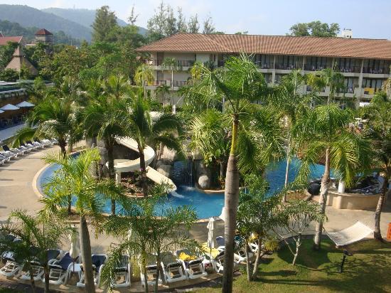 Centara Karon Resort Phuket: Lagoon Pool - view from our balcony