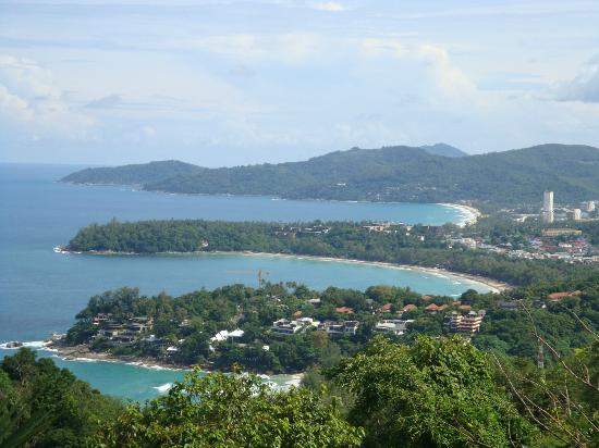 Centara Karon Resort Phuket: View Kata Noi, Kata and Karon from Karon Viewpoint