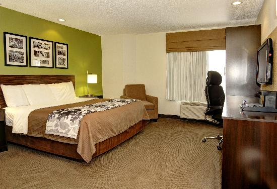 Sleep Inn & Suites: King Room