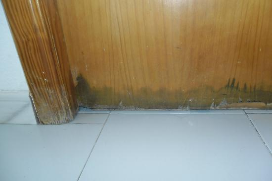 Protur Atalaya Apartamentos: mouldy bathroom door