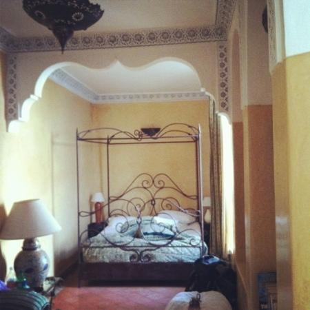 Riad Aguerzame : our room