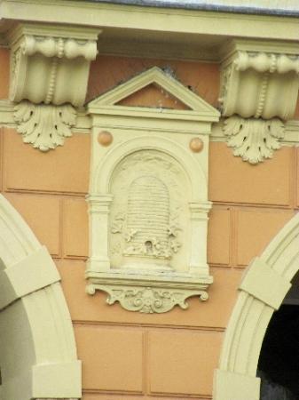 Palace Včela : detail