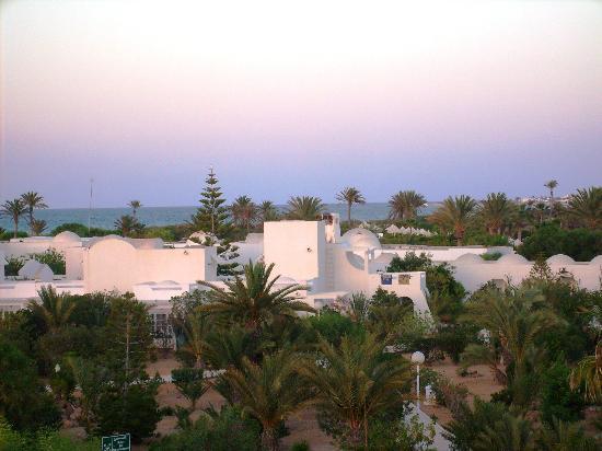Nouvelles Frontieres Hotel-Club Le Djerba: tramonto dalla stanza