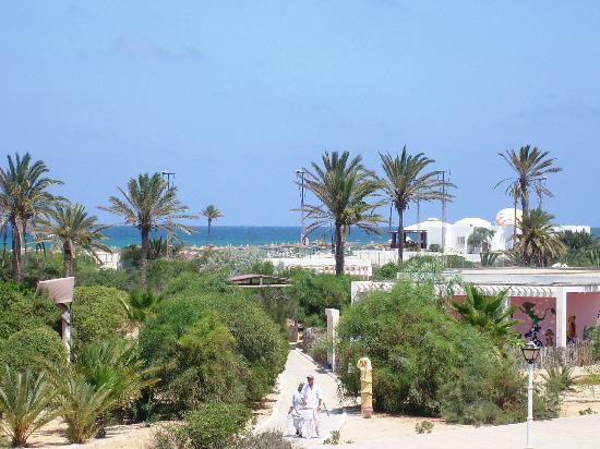 Nouvelles Frontieres Hotel-Club Le Djerba: vista dalla stanza