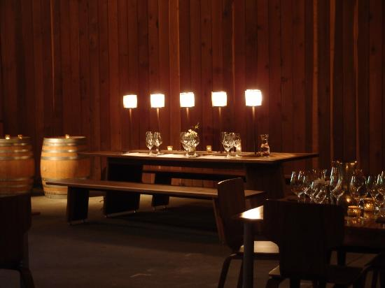 Lambert Bridge Winery: Events room