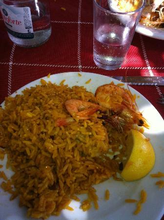 Chiringuito de Ayo: my plate before I devoured it