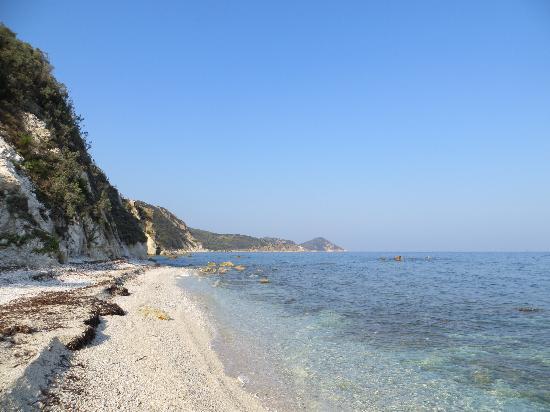 Portoferraio, Italien: Spiaggia di Capo Bianco
