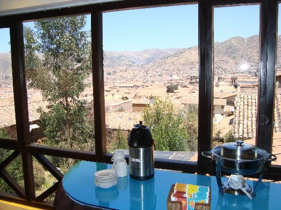Tika Wasi Casa Boutique: View from the Breakfast Room