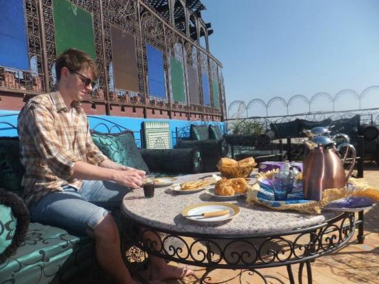 Riad Hiba Meknes: Roof terrace