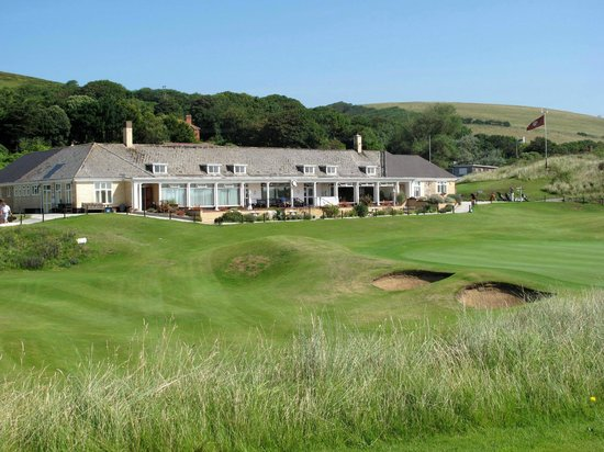 Braunton, UK: The clubhouse at Saunton Golf Club