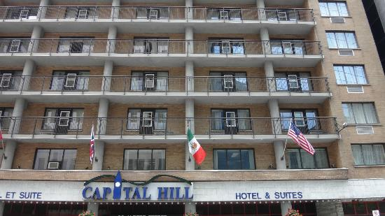 Capital Hill Hotel & Suites: fachada